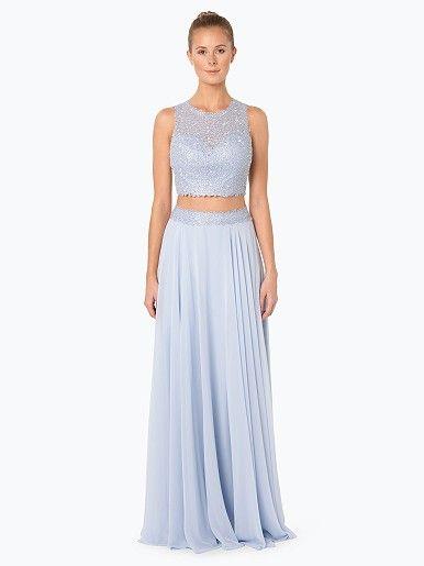 Luxuar Fashion Damen Abendkleid - Dieses raffinierte, zweiteilige ...