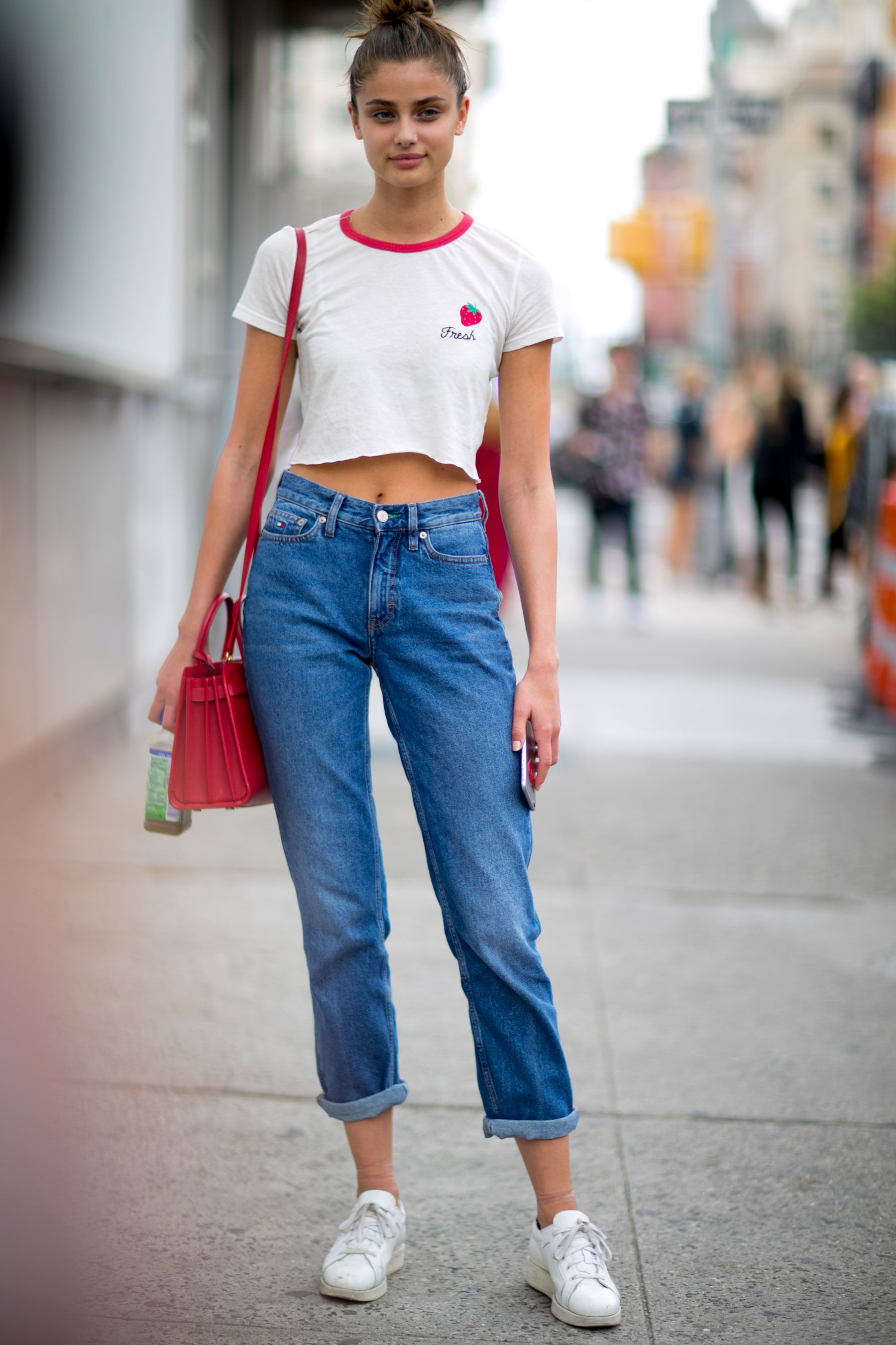 Models Off Duty: NYFW SS17 | style | Taylor hill style ...