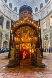 Christians Unite to Renovate Church of Holy Sepulchre