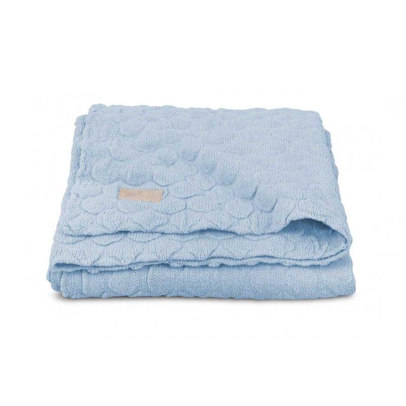 Baby Deken Jollein.Jollein Deken Fancy Knit Baby Blue 49 95 Olive Mint