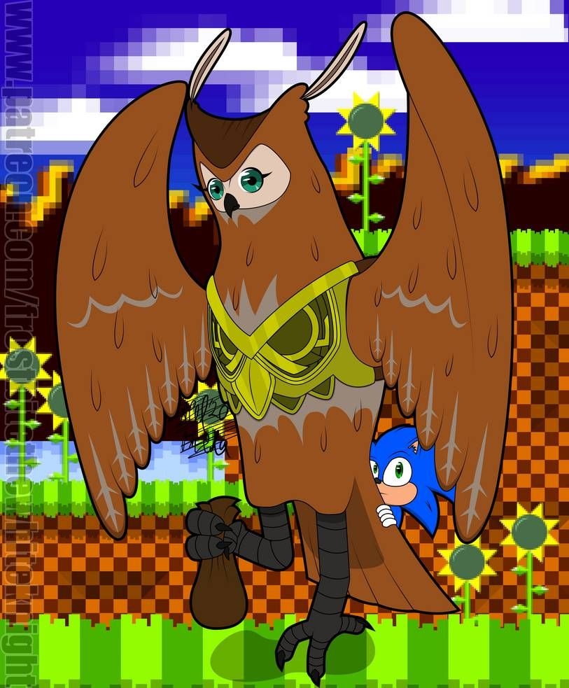 Longclaw And Baby Sonic 2020 By Frostbitewhiteknight On Deviantart In 2020 Sonic Sonic Funny Sonic The Movie