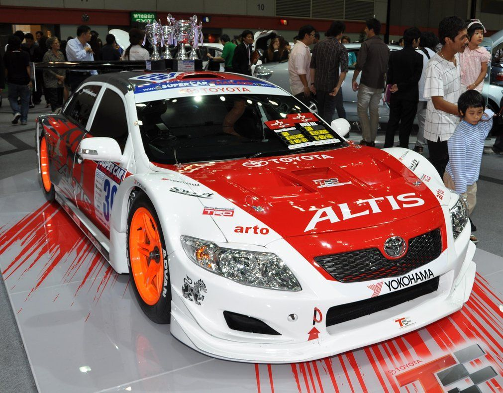 TRD Toyota Altis / Corolla for racing in SuperCar Thailand