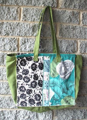 Refashion Co-op: Anthropologie Inspired Tote