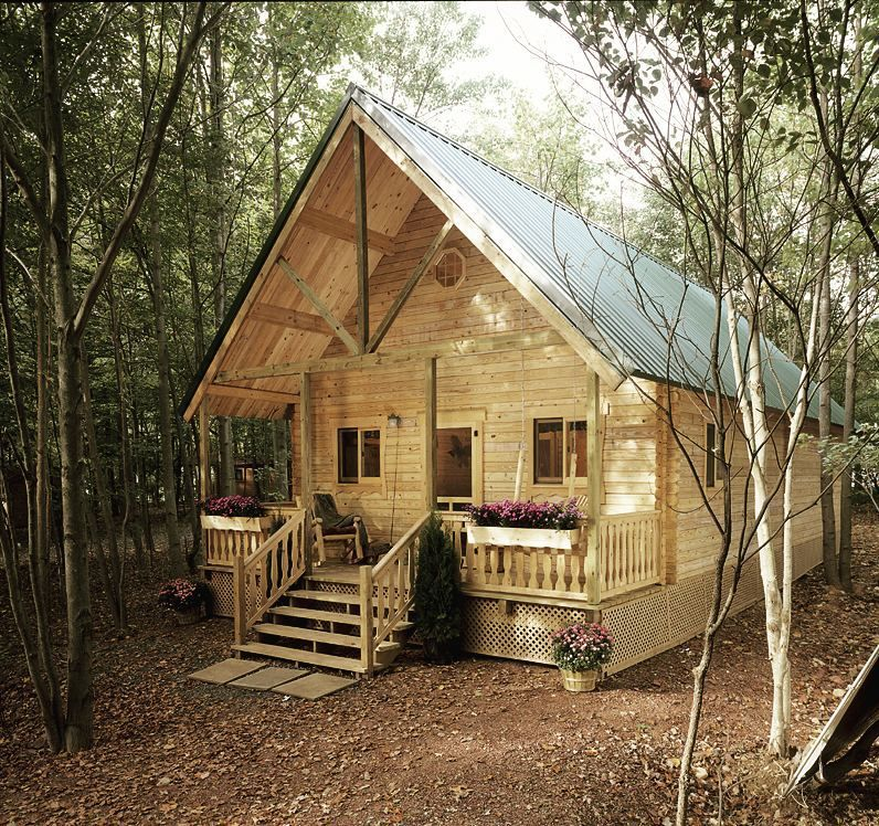 Delicieux Kitchens · Mountain King Log Cabin Kit ...