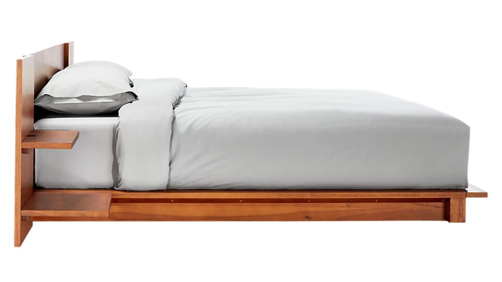 Andes Acacia Bed Cb2 King Beds California King Platform Bed Bed