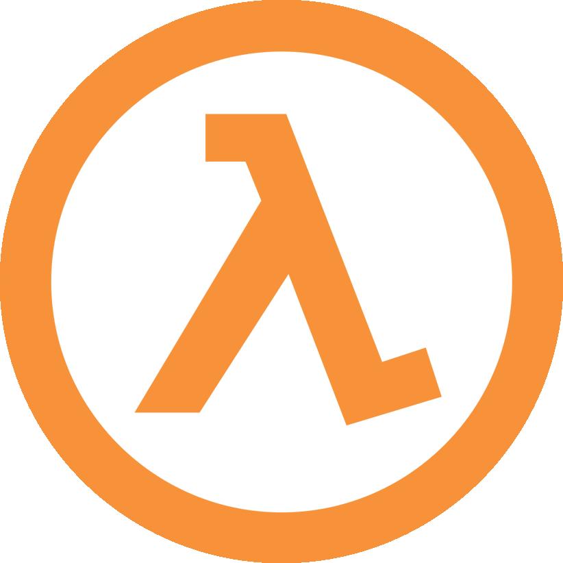 Half-Life Logo | Life logo, Logo wall, Logos
