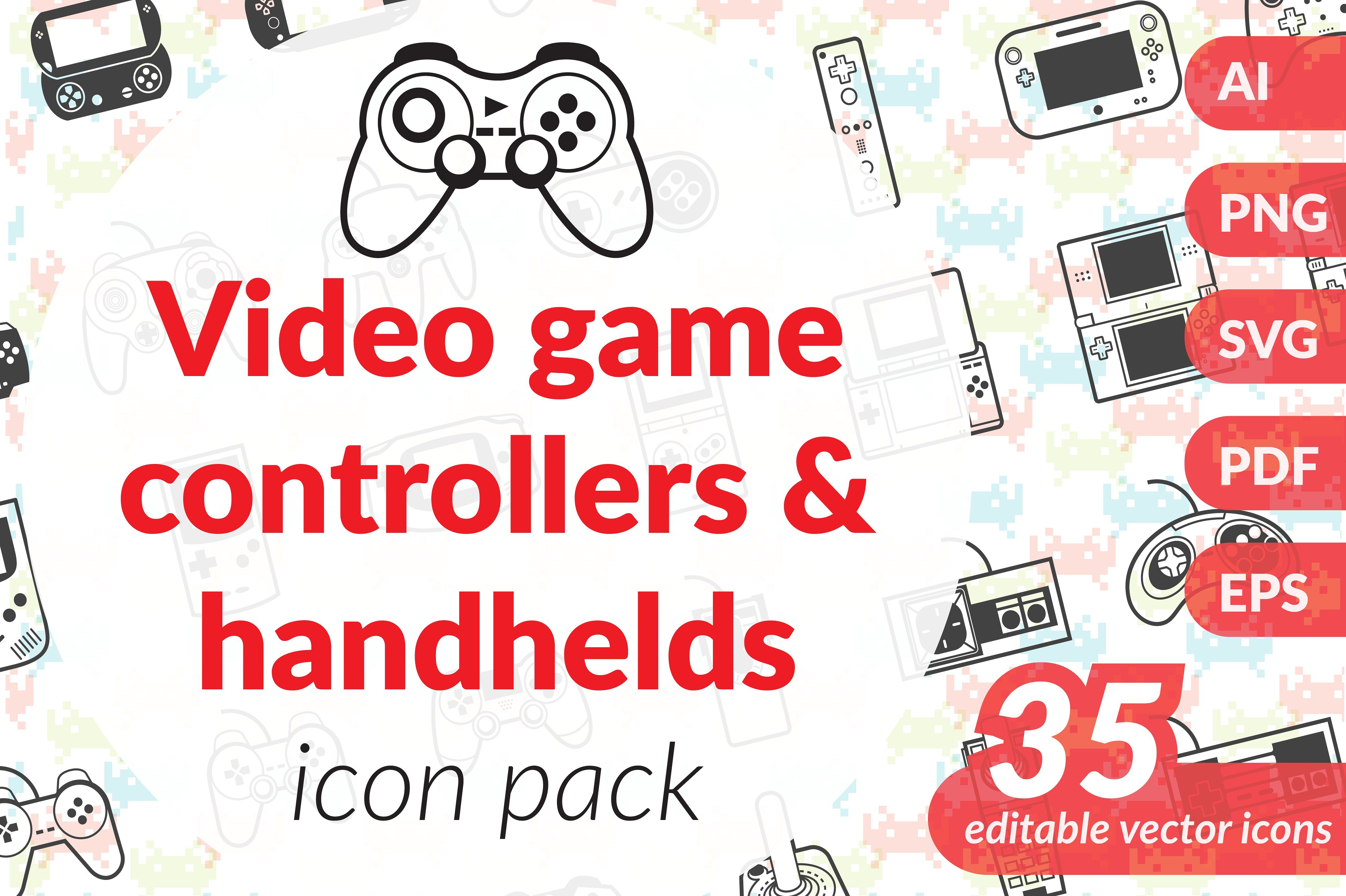 Gaming icon pack Icon pack, Icon, Video game controller