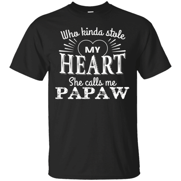 Men's Papa shirt SHE STOLE MY HEART & CALLS ME PAPAW papa gifts #papashirts