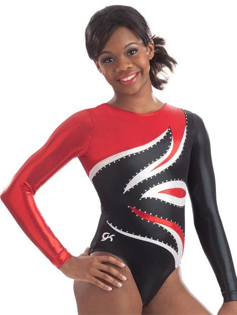 baf7542faafc Yes, You Do Want to Be Olympian Laurie Hernandez For Halloween The Leotard  GK Elite Sportswear Stunning Flame Long Sleeve Leotard ($150)