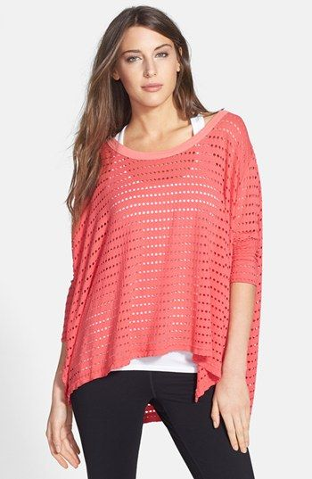Hard Tail 'Holey' Jersey Knit Tee available at #Nordstrom