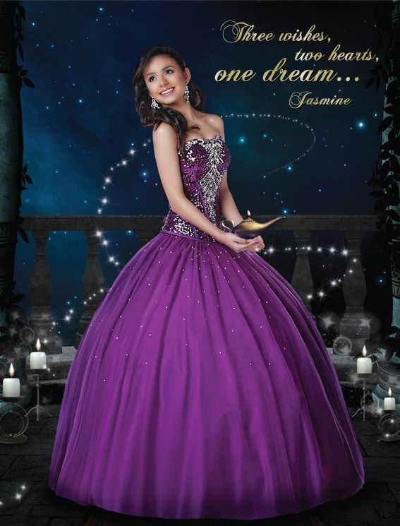 Our Princess Jasmine Gown 41030 Disney Royal Ball Quinceanera ...