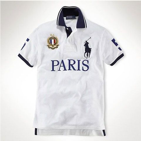 Ralph Lauren Custom-Fit Big Pony City Polo Paris  a516412a4b5
