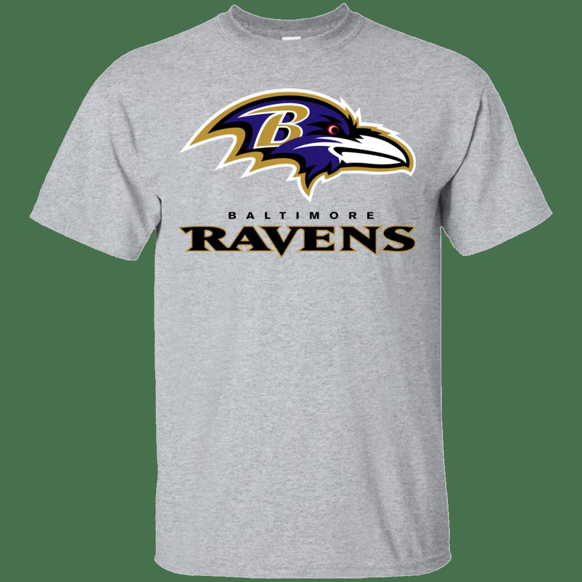 Baltimore Ravens Logo football Men's TShirt (Dengan gambar)