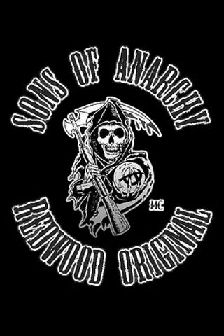 Not Soa But A Patch Skull Wallpaper Sons Of Anarchy Sons