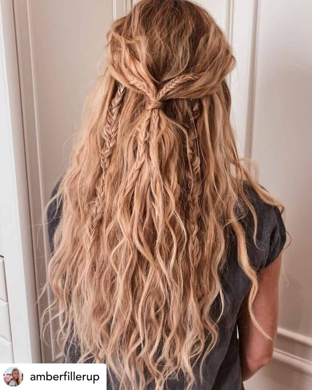 15 Ridiculously Cute Summer Hairstyles Step By Step Tutorials Included In 2020 Easy Summer Hairstyles Hair Styles Long Hair Styles