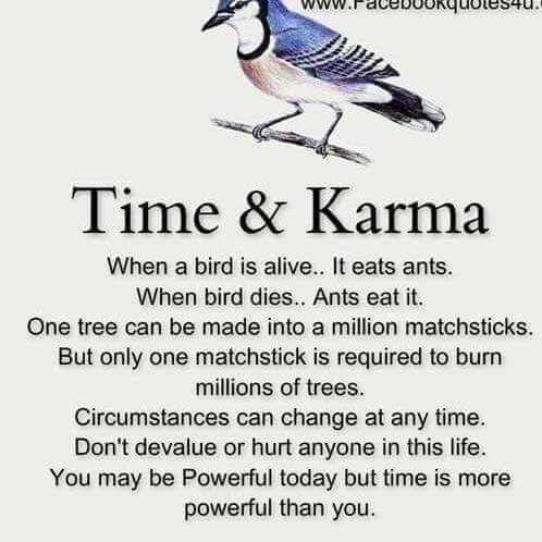 Time and karma