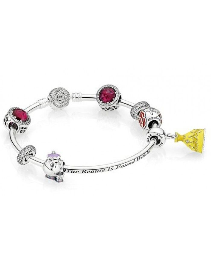 pandora charms disney beauty and the beast