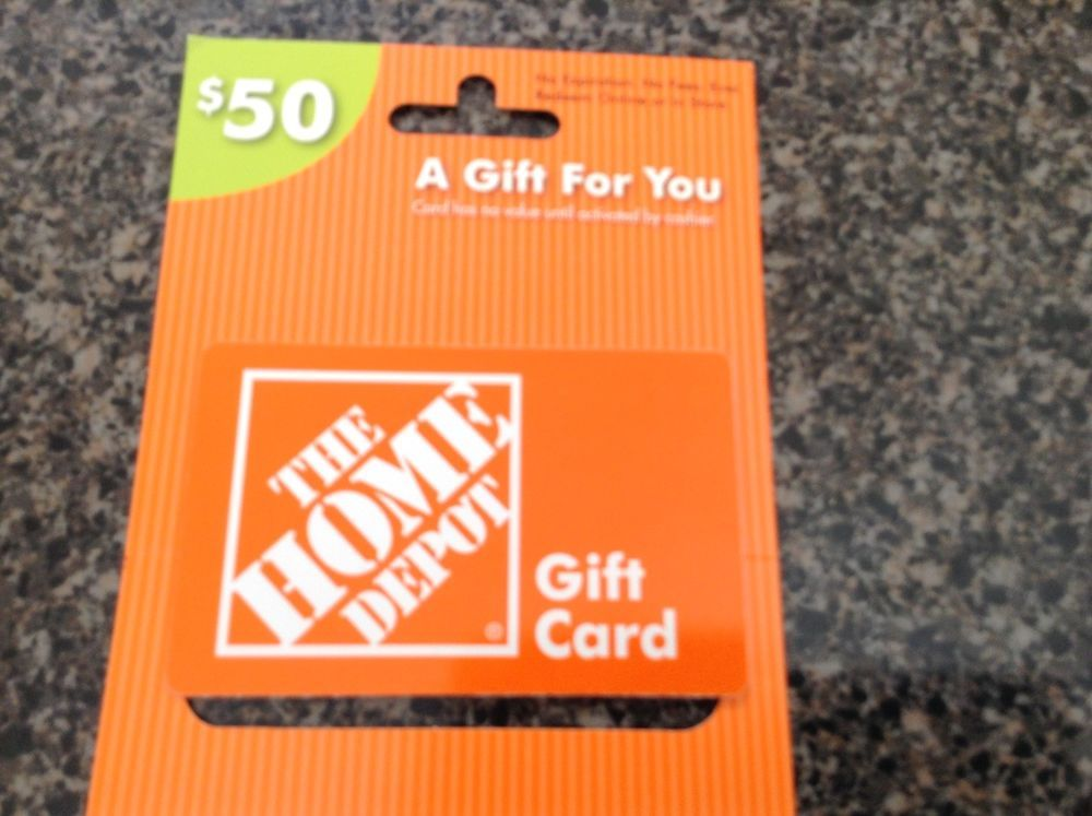 50 home depot gift card with images gift card sale