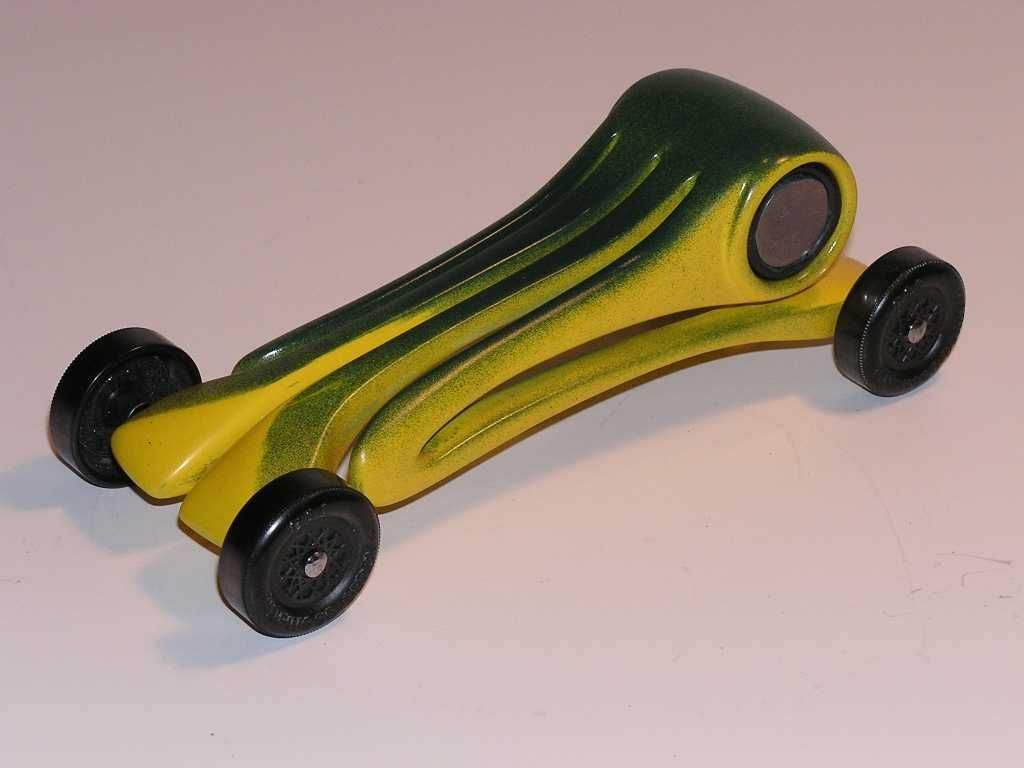 Pinewood Derby car design http://goaskgrandpa.com/flex.htm ...