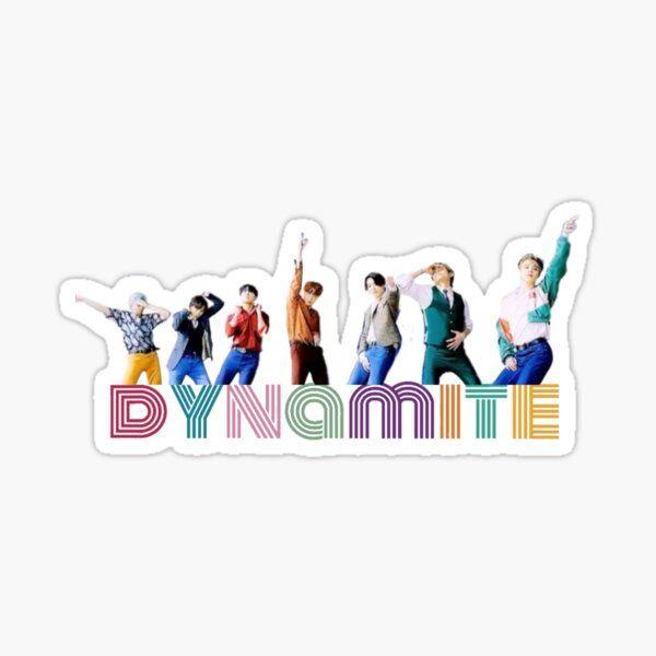Dynamite Hoseok Sticker By Elizasdesigns In 2020 Bts Wallpaper Pop Stickers Bts Fanart