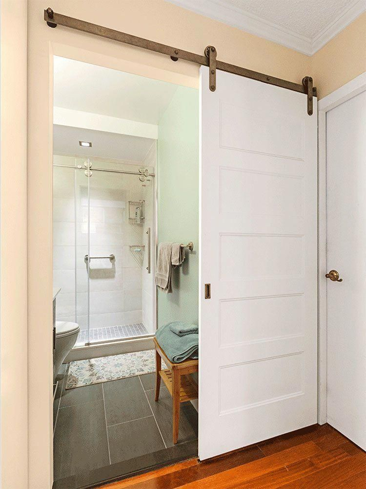 Inside Sliding Barn Doors | Automatic Sliding Door | White ...