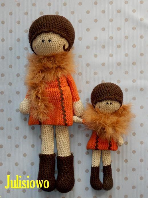 Tola and Lola - crochet dolls - 2 PDF patterns | Ganchillo, Patrones ...