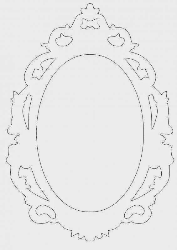 Moldes Do Espelho Diy Fazendo A Festa Com Os