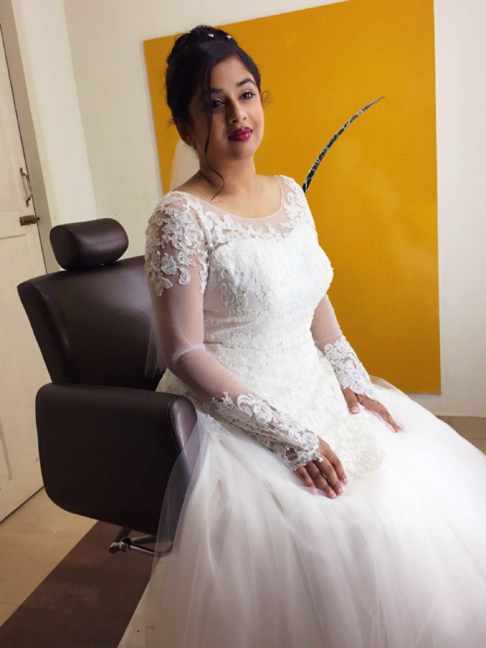 indian wedding #indian bride #christian bride #bridal makeup