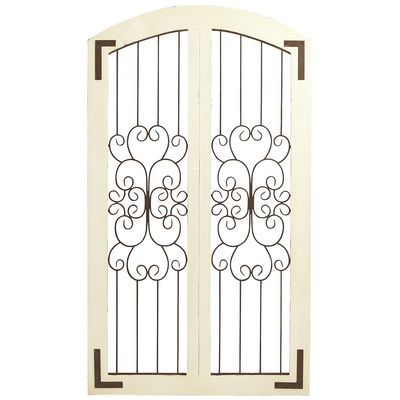 Grand Ivory Arch Wall Decor - $140 from Pier One...might be perfect ...