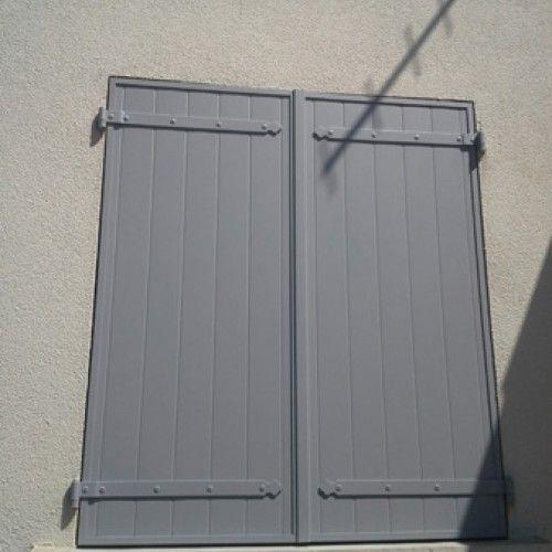 Ral 7040 Gris Fen 234 Tre La Cafe De Nice Garage Doors