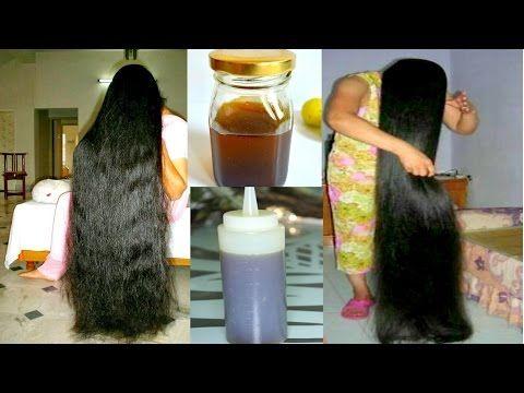 Huile pour la pousse rapide des cheveux