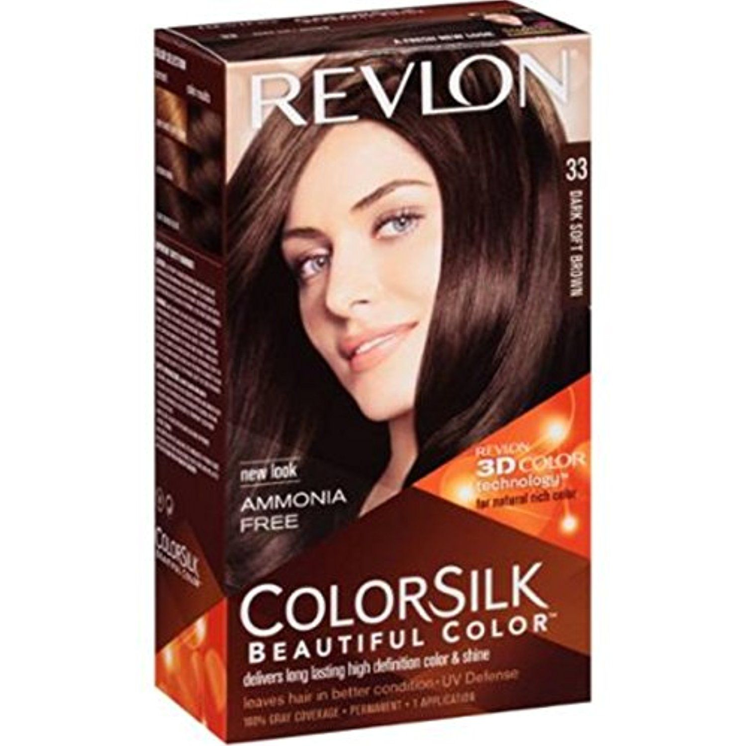 Colorsilk beautiful color 55 light reddish brown by revlon hair color - Revlon Colorsilk Beautiful Color Medium Brown Our Revlon 3d Color Technology Delivers Natural Looking Multi Tonal Color From Root To Tip Not On