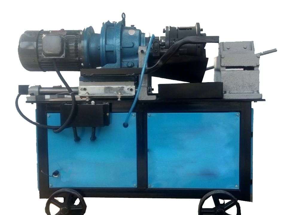 Rebar Threading Machine is used for Cutting External Thread on Bars