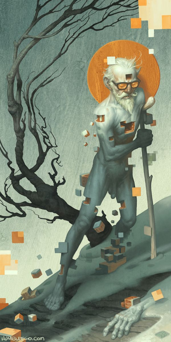 Aboard a Dying Construct by Dave Phillips, via Behance