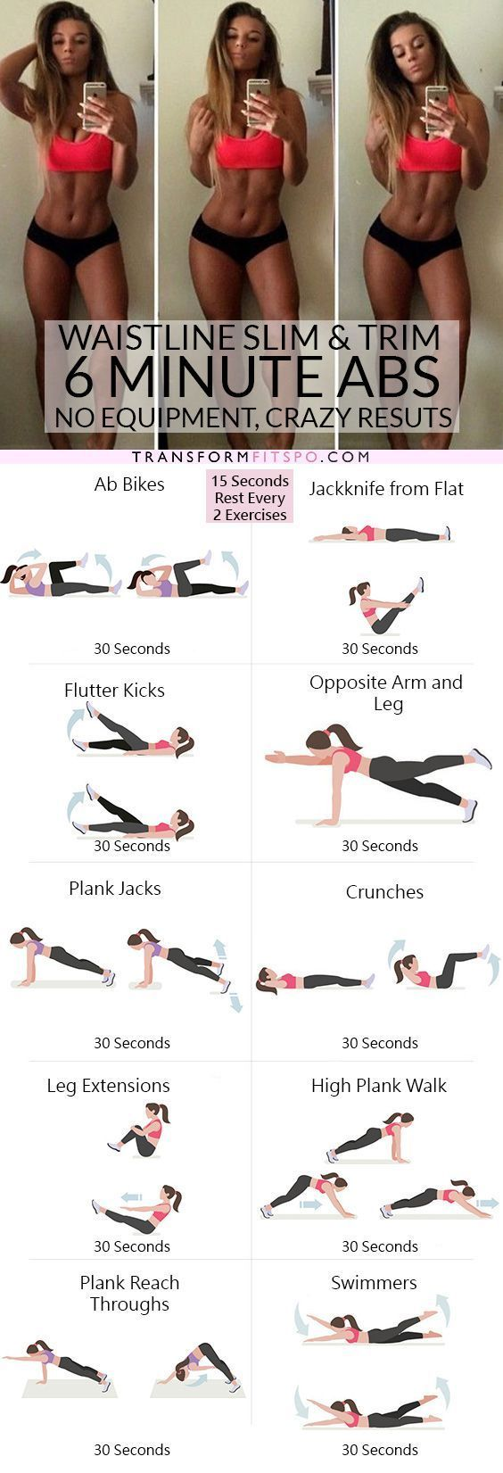 Photo of Spend 6 minutes a day to get a small waist and hourglass figure – Yoga & Fitness