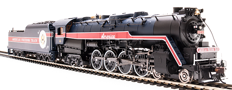 Broadway Limited 2139 Reading T 1 4 8 4 American Freedom Train 1 Paragon2 Sound Dc Dcc Train Model Train Sets Model Trains