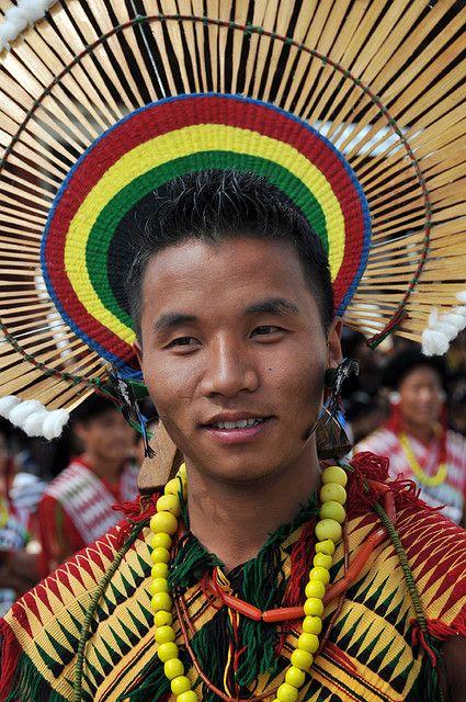 7906f0607d Traditional Angami tribal attire and ornamentation #ChambersArchitects
