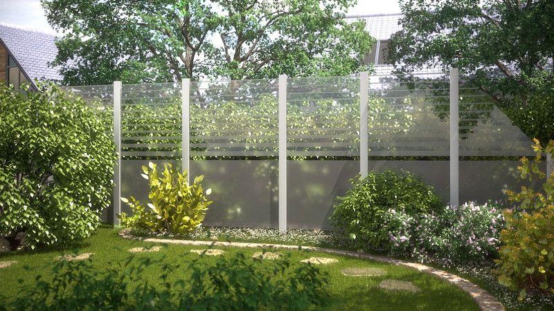 SYSTEM GLAS - Infos zur Serie - Zäune - Brügmann Traumgarten - garten sichtschutz stein
