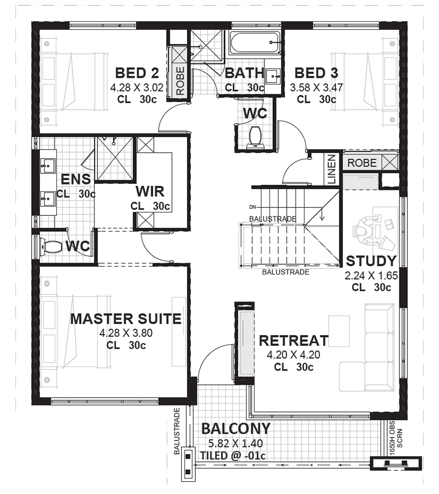 Esteem Premium Single storey house plans, Luxury house