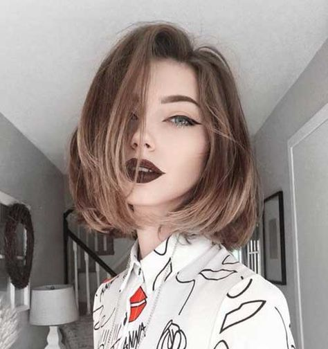 Gorgeous Bob Styles For Straight Hair Bob Haircut And Hairstyle Ideas Short Hair Styles Hair Styles Cute Hairstyles For Short Hair