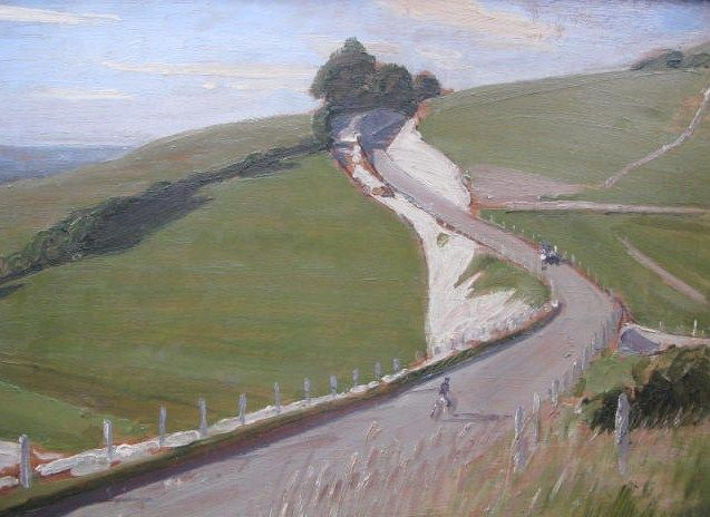 William Nicholson 1872 1949 British Painter Printmaker And Designer Landscape Painting Artists Landscape Paintings William Nicholson