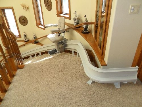 Stairlift Gallery Stair Lifts Curve Indoor