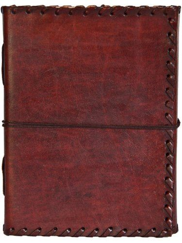 INDIARY Genuine Buffalo Leather Writing Journal With Strap closure and Handmade Paper - 7x5 Inch Simple And Elegant - EXPEDITION INDIARY http://www.amazon.com/dp/B0055115AI/ref=cm_sw_r_pi_dp_uDtmvb160DZBK