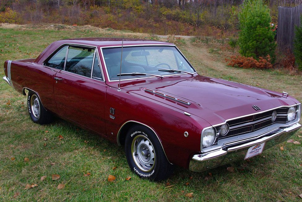 Dodge Muscle Car Colors | 1968 Dodge Dart GTS 2 Door Hardtop at Fast Lane Classi…
