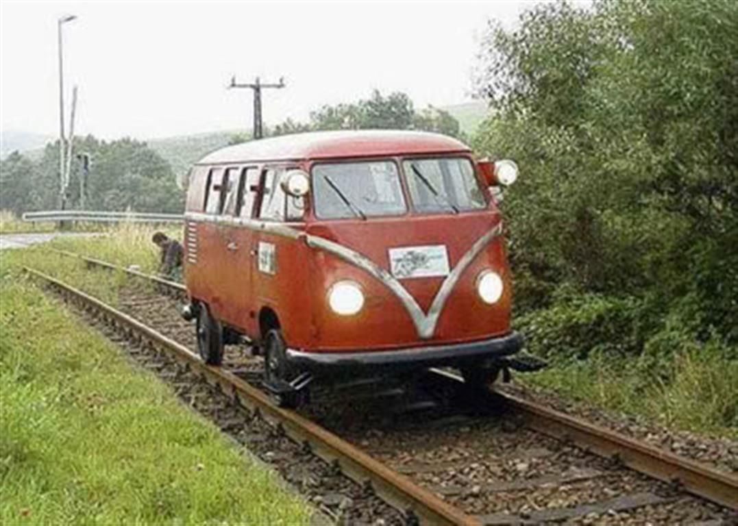 Long Island Rr Volkswagen Railcar Trucks Vans And Utes