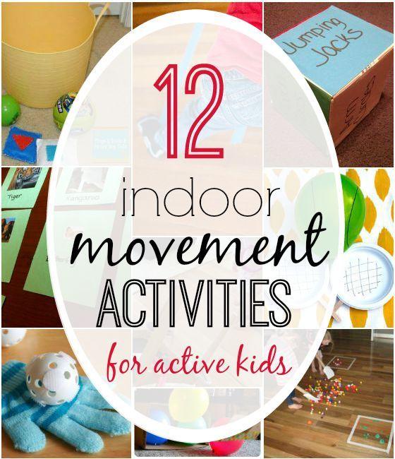 12 indoor movement activities for active kids indoor for Indoor play activities