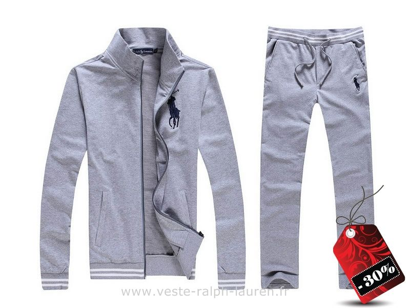 b1e59ebac476 boutique Officielle survetement Ralph Lauren hommes nouveau escompte  occasionnel cardigan gris Chaussure Ralph Lauren