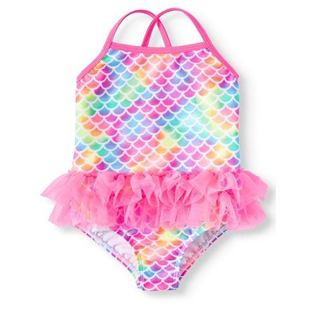 041410690e040 Mermaid Tutu 1piece Swimsuit (Toddler Girls), Size: 4T, Pink in 2019 ...