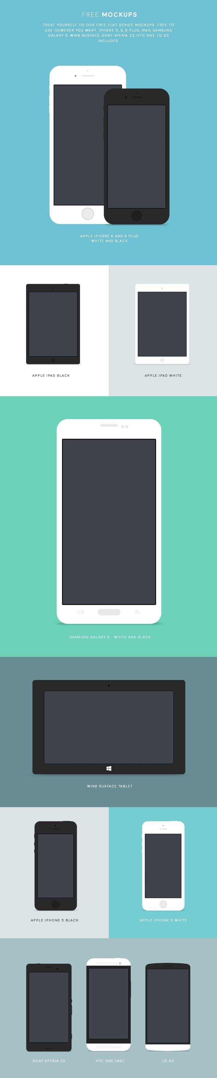 Free Flat Device Mock Ups Mockup Free Psd Mockup Psd Ebook Design
