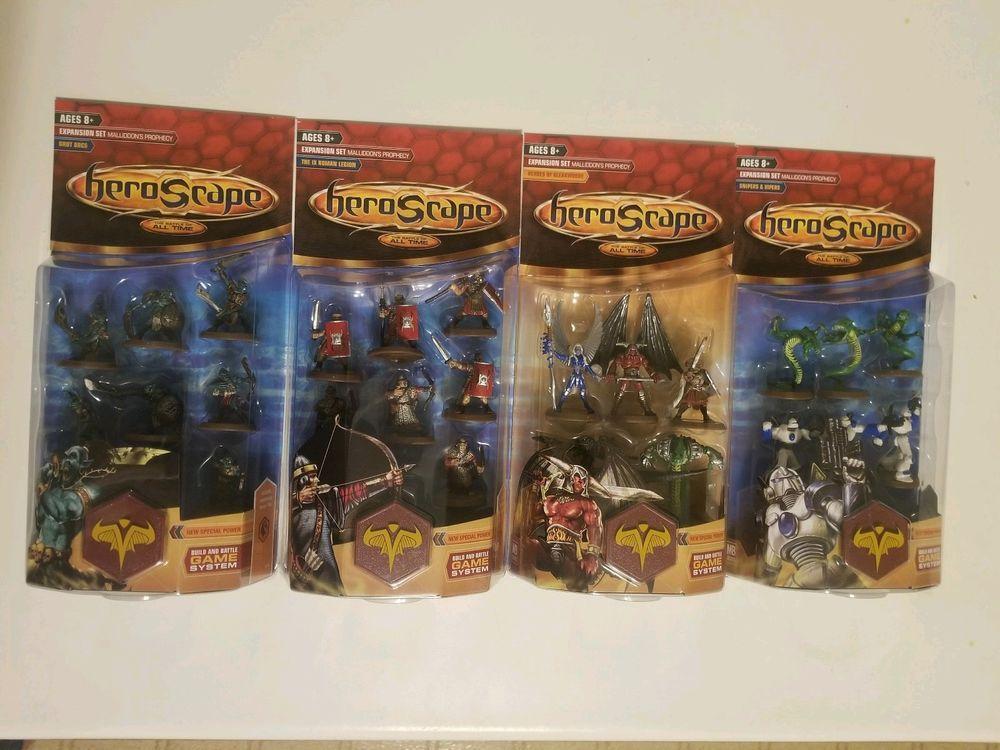 New Heroscape Wave 1 Malliddons Prophecy Complete Set Romanorcs